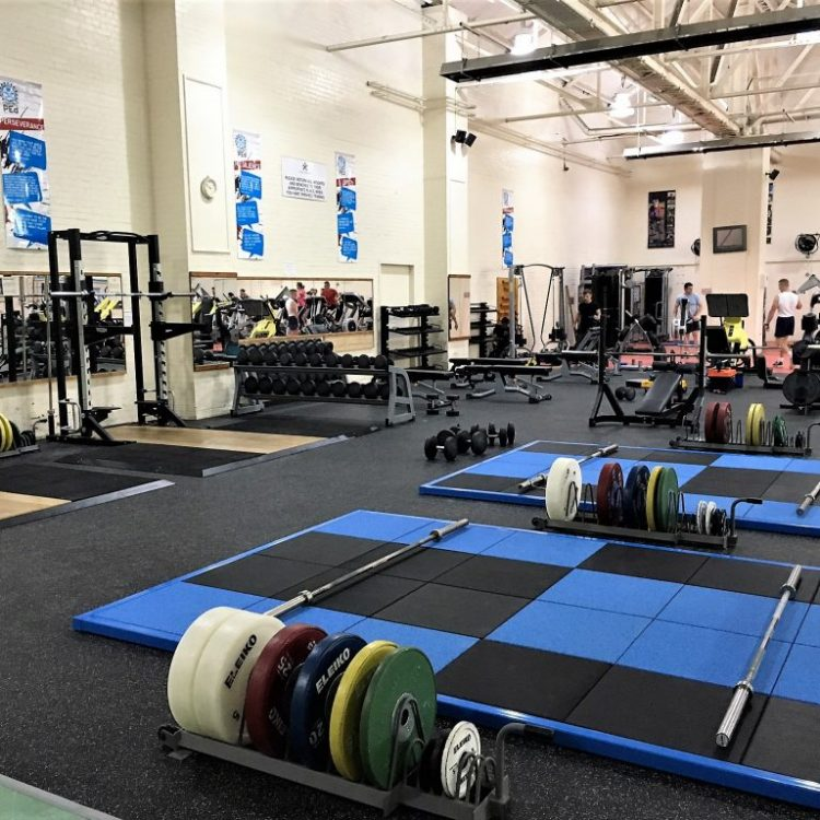 Half racks, Wight lifting platforms and free weight platforms, bespoke storage and accessories and flooring installation
