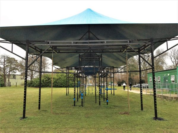 Bespoke XCUBE Extra Large Multifunctional Training Rig with Bespoke Canopy for Outdoor use