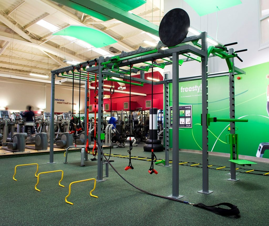 Functional Training: XCUBE Functional Training Rig, Stations & Attachments