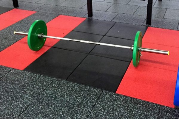 Ecore Ultra Tile Inset Drop Zone or Platform for Olympic Weight Lifting and Bar work