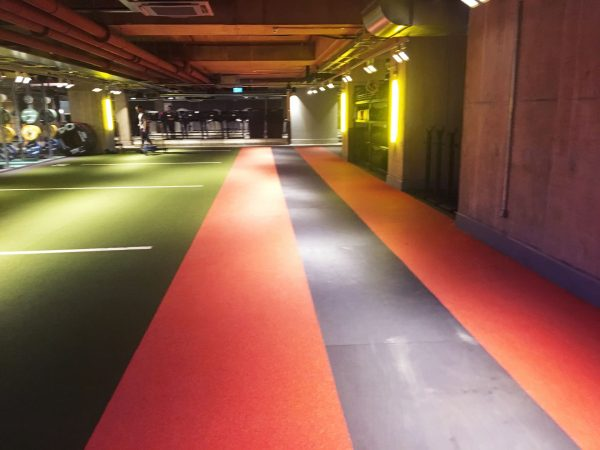Fitness Flooring and Turf Track