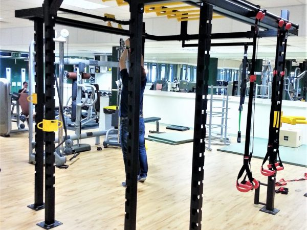 XCUBE Lynx Functional Training Rig Installed 2013