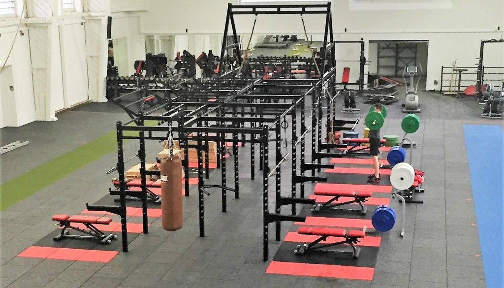 7ab99aa270f Bespoke XCUBE Functional rig and rack and fitness rubber flooring design
