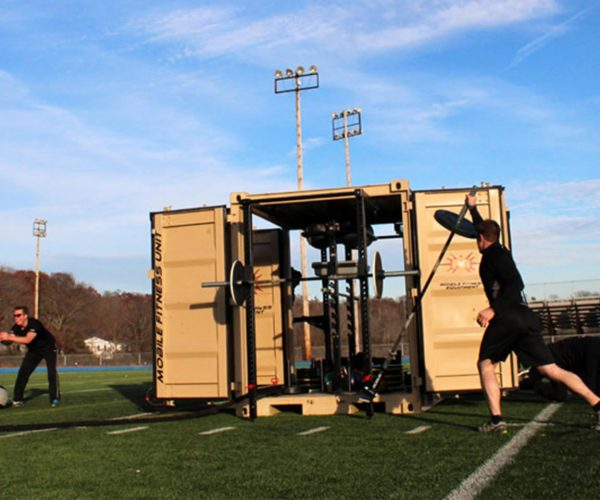 Playing field workout Sand MFU Equipped 1