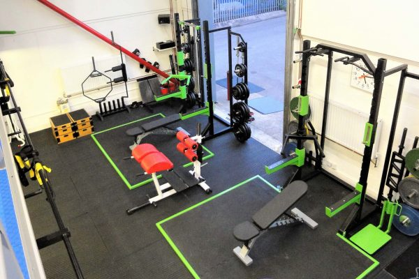 Bespoke London Gym, Ultra Tiles and Fitness Flooring and Equipment