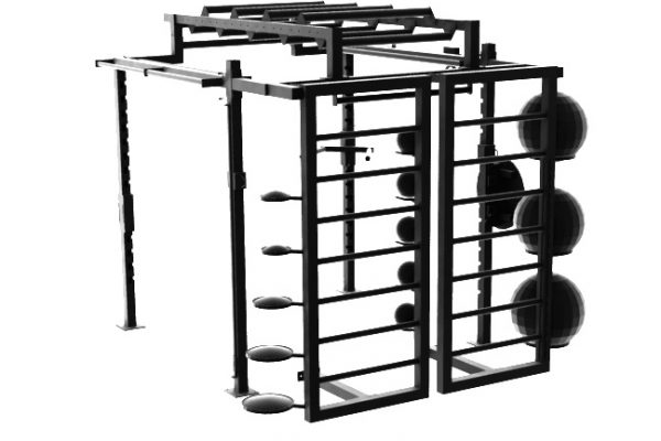 XCUBE Apex Functional Training Rig with Double Ladder System and Storage 2
