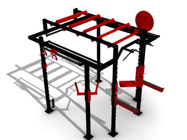 XCUBE Lynx Functional Training Rig Visual 1