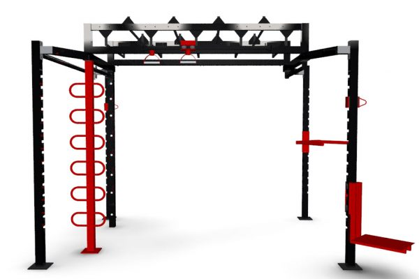 XCUBE Onyx functional training rig visual