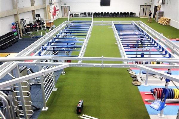Ecore Speed & Agility Turf and Functional Bespoke Rig Installation