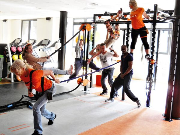 Bespoke XCUBE Lynx Functional Training Rig installed in Shape in Holland