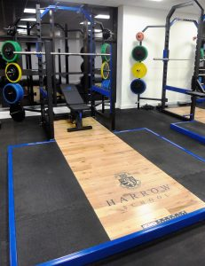 Harrow School Fitness Suite Installation Power Rack