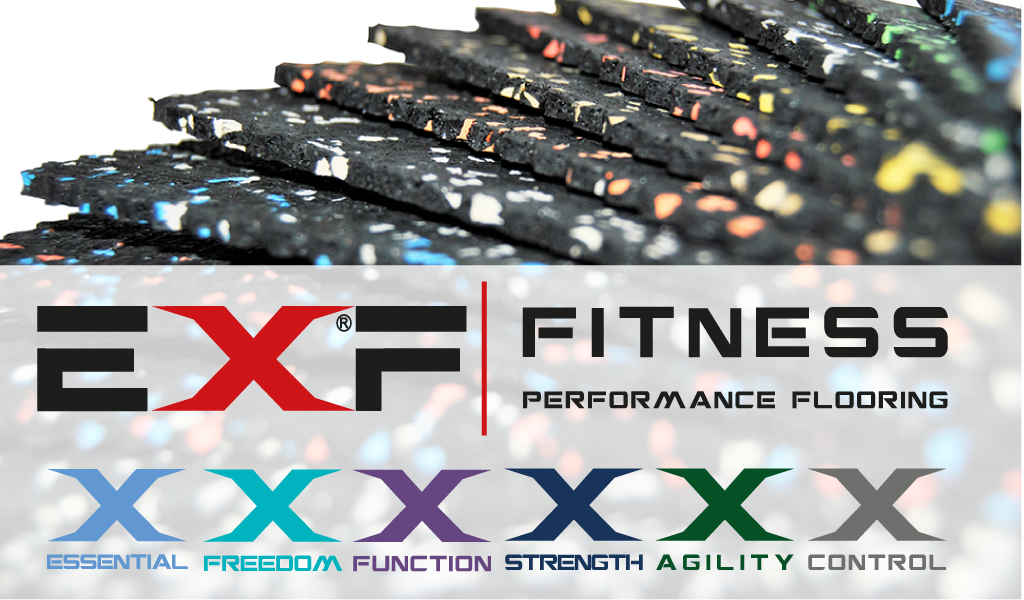 Performance & Conformance from the All New EXF Fitness Flooring Range