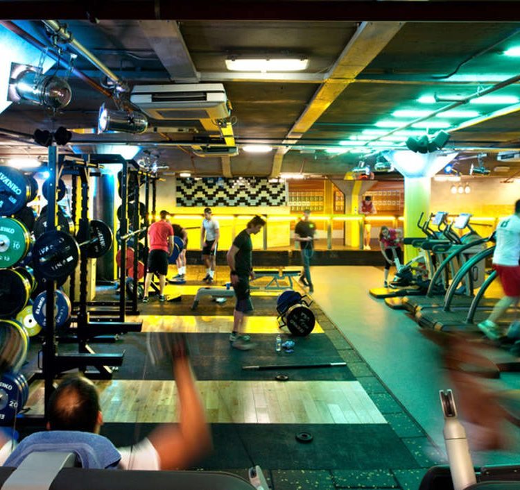 Gymbox Holborn with EXF Racks, Platforms and Flooring