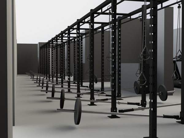XCUBE raks and core trainer stations design 1024 x 785