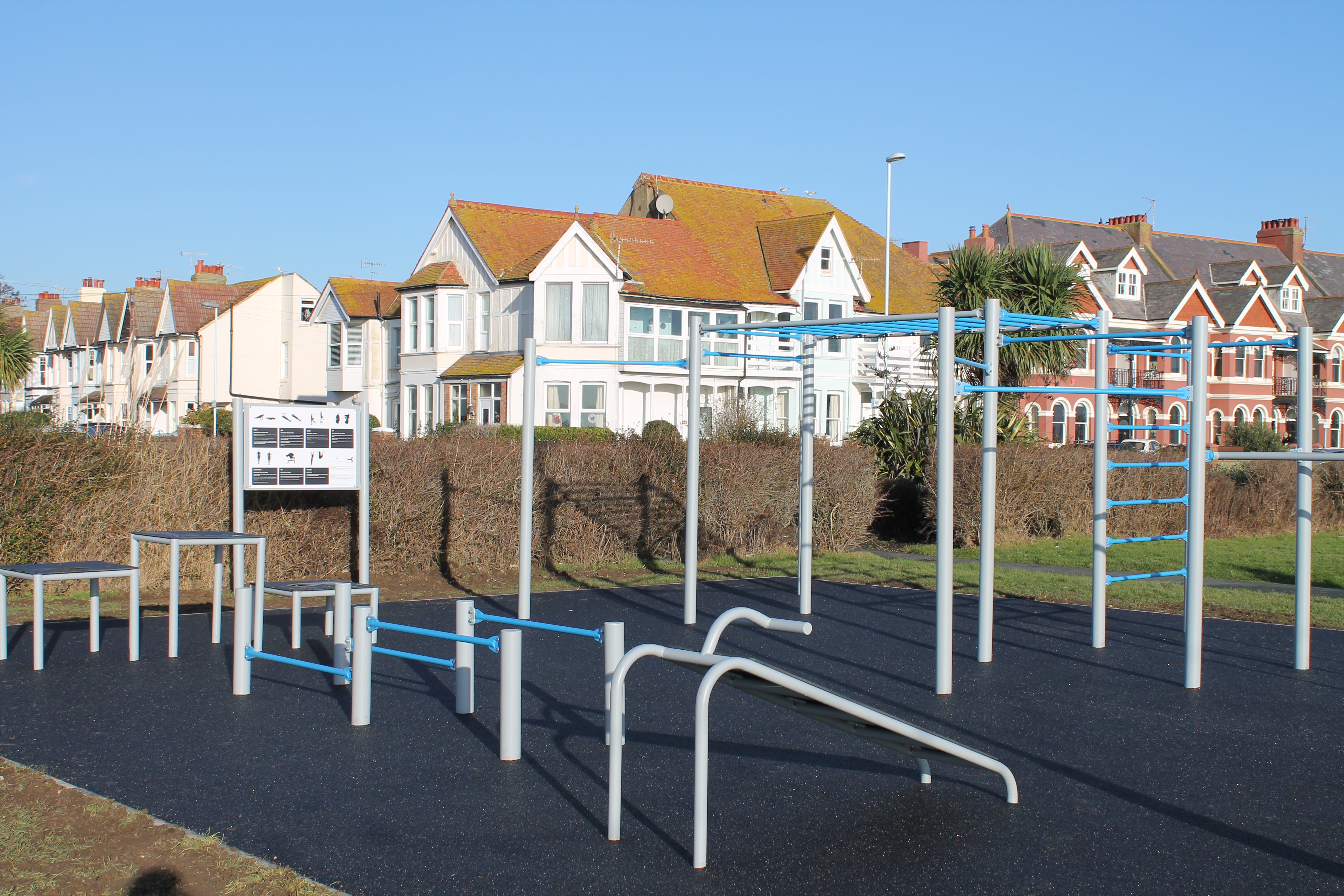 New Calisthenics Park for Worthing Residents